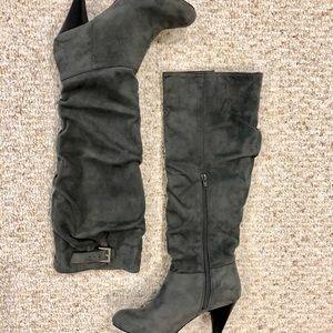 Nine West High Heel Suede Boots